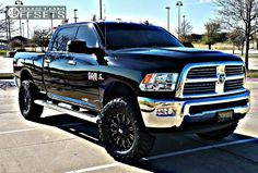 980 1 2014 2500 ram leveling kit kmc xd 806 bomb black aggressive 1 outside fender