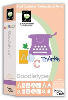 Doodle Type Cricut Cartridge
