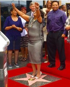 Huge Congratulations To Pastor Shirley Ceasar On Her Star On The Hollywood Walk Of Fame - Urban Gyal