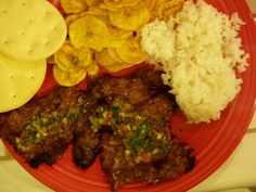 Churrasco con Chimichurri Recipe A Simple Barbecue - Churrasco Steak My husband, Eric, invited one of his clients over for dinner the other night, and he a