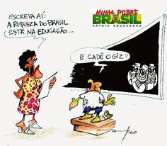BRASIL PERDE ATÉ PARA O IRÃ NO RANKING DA EDUCAÇÃO. ESSA TAL PÁTRIA EDUCADORA É MAIS UMA MENTIRA LULA-LÁ/DILMA/PT BOQUINHA ~ TRIBUNA da IMPRENSA online