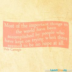 from Dale Carnegie