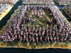 Benno's Figures Forum • Waterloo Squares Waterloo 1815, Battle Of Waterloo, Military Figures, Military Diorama, Roman Soldiers, Toy Soldiers, Forte Apache, Bataille De Waterloo, Military Tactics