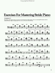 jazz piano arpeggio exercises pdf