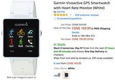 Amazon Canada Deals Of The Day: 53% on Garmin Vivoactive GPS Smartwatch 65% on Sennheiser HD Headset & 33% on B... http://www.lavahotdeals.com/ca/cheap/amazon-canada-deals-day-53-garmin-vivoactive-gps/198023?utm_source=pinterest&utm_medium=rss&utm_campaign=at_lavahotdeals