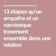 13 étapes qu'un empathe et un narcissique traversent ensemble dans une relation