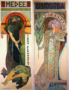 Mucha Art Nouveau, Art Deco, Alphonse Mucha Art, Faeries, Art Forms, Les Oeuvres, Amazing Art, Renaissance, Fantasy Art