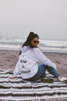 I Dream In Evergreen Unisex Hoodie