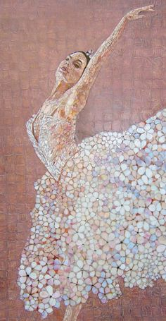 Mosaic Studio Artmonument: Ballet mosaic panel Mosaic Tile Art, Mosaic Artwork, Mosaic Diy, Mosaic Garden, Mosaic Crafts, Mosaic Projects, Mosaic Glass, Glass Art, Stained Glass