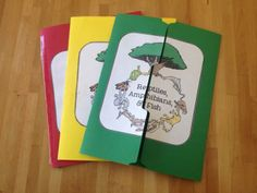 Easy way to do lapbooks!
