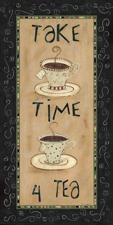 Take time for tea <3