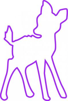 reh kitz 33 cm hohe silhouette schmiedeeisen in antik rost