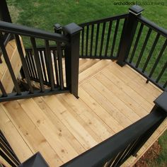 How To Choose The Best Stair Design For Your Deck | Whether your deck design requires a step-or-two or a long staircase with a landing, building your stairs requires forethought, planning and oftentimes tricky construction calculations to get-it-right. | archadeckwestcounty.com