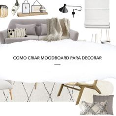 COMO CRIAR MOODBOARD PARA DECORAR? - DESIGN POR ACASO Bed, Furniture, Home Decor, Serendipity, Homemade Home Decor, Stream Bed, Home Furnishings, Beds, Decoration Home