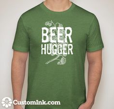 beerhugger designed online at http://www.customink.com by BrewerShirts