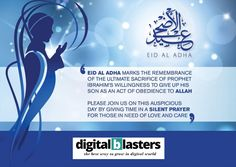 Digital Blasters wishes you in a advance pleasant and peaceful Eid-ul-Adha together with your whole family and your loved ones! Happy Eid Mubarak!  It's your vision and creativity that comes to life on our platform. You inspire us, and we are grateful that you trust us with your business and we promise to keep delivering you our best.   #EidAlAdha2020 #EidMubarak #eidgreetings #family #friends #love #fun #digitlblasters #digitlmarketingaagency #seo #webdevelopment #appdevelopment Silent Prayer, Eid Greetings, Happy Eid Mubarak, Eid Al Adha, App Development, Grateful, Seo, Wish, Digital Marketing