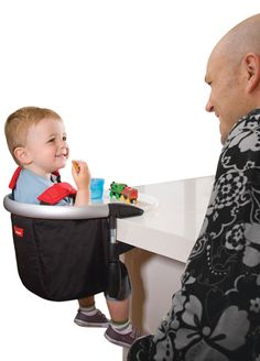 Phil and Ted's lobster portable highchair