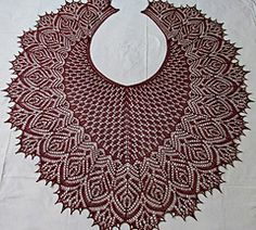 Ravelry: Hortense Beaded Lace Shawl pattern by Anna Victoria, Beaded all over… Knit Or Crochet, Lace Knitting, Crochet Shawl, Knitting Stitches, Knitting Patterns, Knitted Shawls, Crochet Scarves, Crochet Clothes, Shawl Patterns