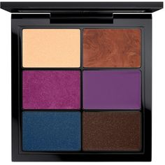 Crème Shadow X 6 Glamorize Me MAC Cosmetics Official Site (£32) ❤ liked on Polyvore featuring beauty products, makeup, eye makeup, eyeshadow, mac cosmetics eyeshadow, palette eyeshadow and mac cosmetics