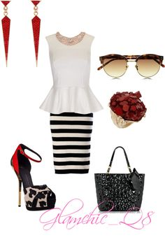 """A day in the life"" by glamchicq8 on Polyvore"