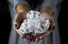 ce que fait l'imprimante 3D avec du sucre