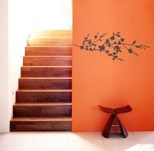 This wall decal could possibly have potential. There's still some wall space.