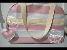 Bolsa pra viagem (Rafaela) - YouTube Backpack Tutorial, Couture Sewing, Kids Bags, Pre School, Gym Bag, Sewing Projects, Diy, Backpacks, Handbags