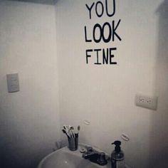 You look fine little love