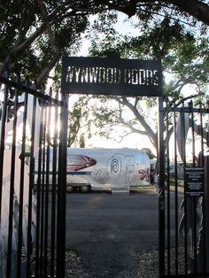 wynwood doors.  Wynwood Arts District, Miami.