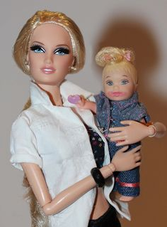 City Shopper™ Barbie® Doll - Blonde, 2013, the Barbie Look Collection And Nikki.