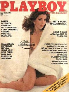 Betty Faria - Playboy Magazine Cover [Brazil] (August 1978)