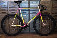 My brother Fluo Bike. by Stefano Savarino, via Flickr