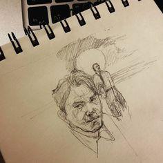 Когда твой учитель по рисованию азиат это в рисунке проявляется время от времени.  #drawing #illustration #portrait #sketch #pencil #sketchbook #art #artwork #painting #topcreator #eskiz #портрет #рисунок #карандаш #набросок #эскиз