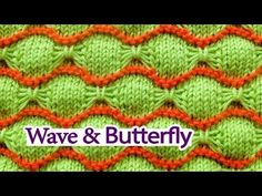 Wave and Butterfly Knitting
