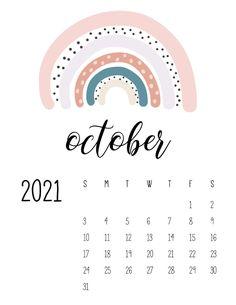 Free Calendar, Print Calendar, Kids Calendar, Calendar Design, 2021 Calendar, Calendar Ideas, Monthly Planner Printable, Printable Calendar Template, Calendar Wallpaper