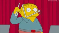 the simpsons simpsons stupid triangle season 26 dumb simple ralph ralph wiggum mathletes feat mr largo dewey largo