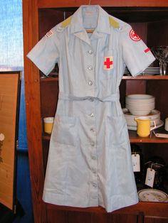 World war 2 Red Cross uniform