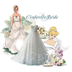 Disney Style- Cinderella I want this dress sooo bad! Disney Inspired Wedding, Disney Wedding Dresses, Disney Inspired Fashion, Cinderella Wedding, Disney Dresses, Princess Wedding, Dream Wedding Dresses, Disney Fashion, Mermaid Wedding