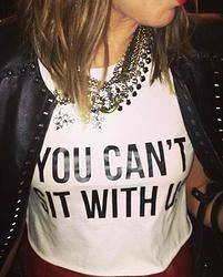 """""""You Can't Sit With Us"""" Tee"""