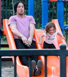 Cam Gigandet and his Daughter <3