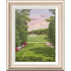 Global Gallery '4th Hole Bethpage Black' by Diane Romanello Framed Painting Print Size: