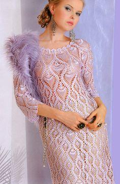 CROCHET FASHION TRENDS  exclusive crochet dress  by LecrochetArt, $490.00