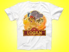 Lion Guard Birthday Shirt, Lion Guard Party Tshirt, Custom Birthday Outfit shirt, Party Gaurd Shirt by FunPartyDay on Etsy
