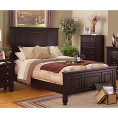 Nicholson Sincere 3-piece Cappuccino Bedroom Set (Nicholson Sincere 3 PC Cappuccino Eastern King), Brown