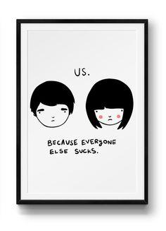 Us print – Stay Home Club