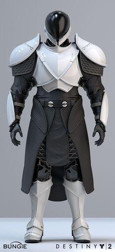 "ArtStation - Destiny 2 IO ""Gensym Knight"" Titan Gear, Roderick Weise Destiny Cosplay, Cosplay Armor, Cyberpunk, Nono Le Petit Robot, Titans Gear, Titan Armor, Sci Fi Armor, Larp Armor, Arte Sci Fi"