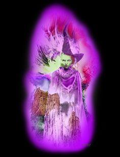 Bennett Klein - Witch Freebie Digital Colouring