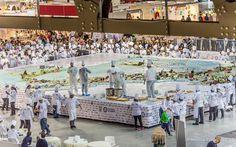 All'Italia il guinness della torta più grande del mondo