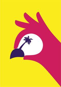 illustration, poster, graphic design, Noma Bar via topoftheline99.com