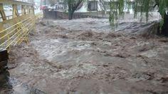 Inundaciones en Córdoba, Argentina.